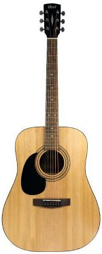 GUITARE ACOUSTIQUE AD810GOP LH GAUCHER