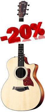 GUITARE ELECTRO-ACOUSTIQUE 314CE GRAND AUDITORIUM TAYLOR