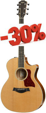 GUITARE ELECTRO-ACOUSTIQUE 514CE GRAND AUDITORIUM TAYLOR