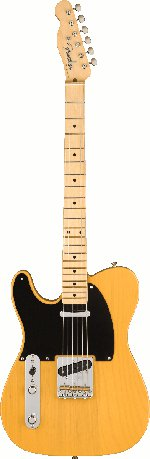 TELECASTERCASTER AMERICAN ORIGINAL 50's GAUCHER BUTTERSCOTCH BLONDE