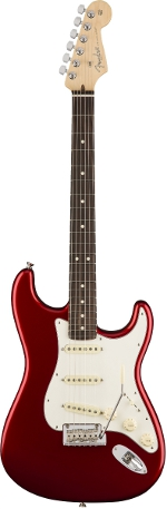 STRATOCASTER AMERICAN PROFESSIONAL CANDY APPLE RED TOUCHE PALISSANDRE