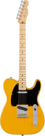 TELECASTER AMERICAN PROFESSIONAL MN BUTTERSCOTCH BLONDE FRENE FENDER USA