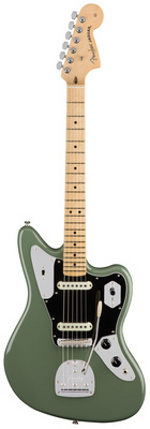 JAGUAR AMERICAN PROFESSIONAL MN ANTIQUE OLIVE FENDER USA