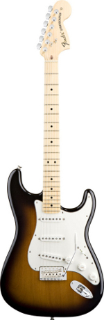 STRATOCASTER AMERICAN SPECIAL 2 tons SUNBURST TOUCHE MAPLE FENDER USA