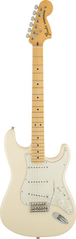 STRATOCASTER AMERICAN SPECIAL OLYMPIC WHITE  TOUCHE MAPLE FENDER USA