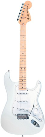 STRATOCASTER CLASSIC 70 OLYMPIC WHITE TOUCHE ERABLE FENDER