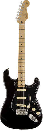 STRATOCASTER MEXICAN FSR BLACK-MAPLE