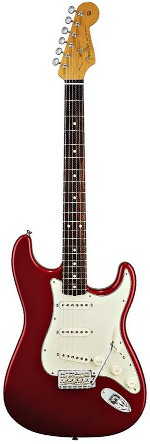 STRATOCASTER CLASSIC PLAYER 60 CANY APPLE RED TOUCHE PALISSANDRE FENDER