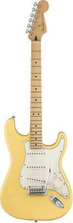 STRATOCASTER PLAYER BUTTERCREAM TOUCHE ERABLE FENDER