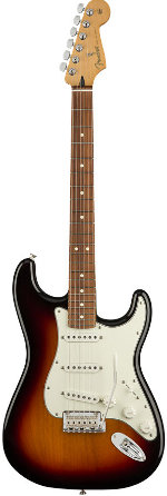 STRATOCASTER PLAYER SUNBURST TOUCHE PAU FERRO