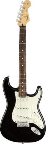 STRATOCASTER PLAYER BLACK TOUCHE PAU FERRO