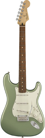 STRATOCASTER PLAYER SAGE GREEN METALLIC  TOUCHE PAU FERRO