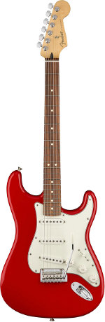 STRATOCASTER PLAYER SONIC RED TOUCHE PAU FERRO