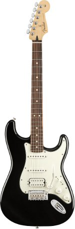STRATOCASTER PLAYER HSS BLACK TOUCHE ERABLE FENDER