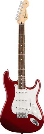 STRATOCASTER STANDARD CANDY APPLE RED TOUCHE PALISSANDRE FENDER