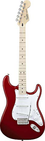 STRATOCASTER STANDARD CANDY APPLE RED TOUCHE ERABLE FENDER