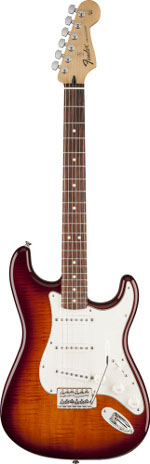 STRATOCASTER STANDARD PLUS TOP TOBACCO SUNBURST