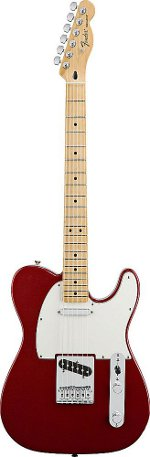 TELECASTER STANDARD CANDY APPLE RED TOUCHE ERABLE FENDER