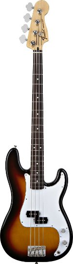 PRECISION STANDARD BROWN SUNBURST TOUCHE PALISSANDRE FENDER