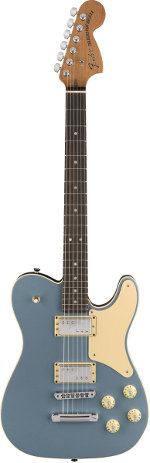 TROUBLEMAKER TELECASTER RW ICED BLUE METALLIC FENDER USA