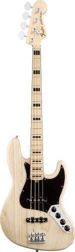 JAZZ BASS AMERICAN DELUXE NATUREL MAPLE