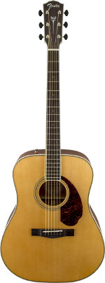 GUITARE ELECTRO-ACOUSTIQUE PARAMOUNT PM-1 STANDARD DREADNOUGHT NATURAL FENDER
