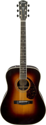 GUITARE ELECTRO-ACOUSTIQUE PARAMOUNT PM-1 DELUXE DREADNOUGHT SUNBURST