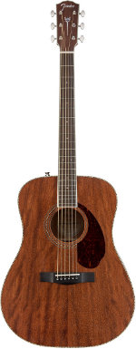 GUITARE ACOUSTIQUE PARAMOUNT PM-1 STANDARD DREADNOUGHT MAHOGANY FENDER