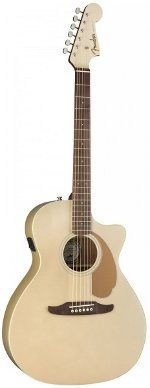 GUITARE ELECTRO-ACOUSTIQUE NEWPORTER PLAYER CHAMPAGNE FENDER