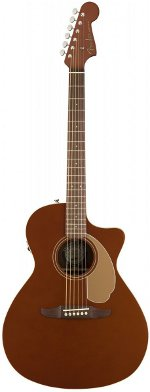 GUITARE ELECTRO-ACOUSTIQUE NEWPORTER PLAYER RUSTIC COPPER FENDER