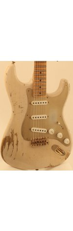 STRATOCASTER 1954 HEAVY RELIC DIRTY WHITE BLONDE + ETUI
