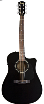 GUITARE ELECTRO-ACOUSTIQUE CD60CEBK NOIR BRILLANT