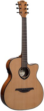 GUITARE ELECTRO-ACOUSTIQUE T66ACE TRAMONTANE AUDITORIUM LAG