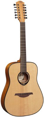 GUITARE ACOUSTIQUE T66D12  TRAMONTANE Dreadnought 12 CORDES LAG