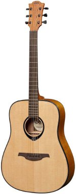 GUITARE ACOUSTIQUE TL66D  TRAMONTANE DREADNOUGHT GAUCHER LAG