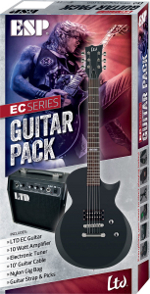 LTD PACK GUITARE EC10 LTD + AMPLI LTD