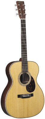 GUITARE ACOUSTIQUE OM28 000 Epicéa Sitka/Palissandre MARTIN