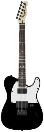 TELECASTER JIM ROOT - FLAT BLACK SQUIER