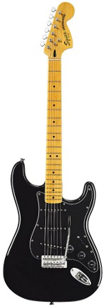 STRATOCASTER Vintage Modified '70s Maple Fretboard - Black SQUIER