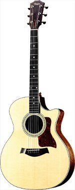 GUITARE ELECTRO-ACOUSTIQUE 414CE GRAND AUDITORIUM TAYLOR