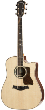 GUITARE ELECTRO-ACOUSTIQUE 810CE DREADNOUGHT TAYLOR