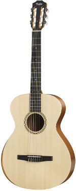 GUITARE ELECTRO-ACOUSTIQUE ACADEMY 12E-N ESN NYLON GRAND CONCERT+HOUSSE