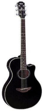 GUITARE ELECTRO-ACOUSTIQUE APX700II BL BLACK