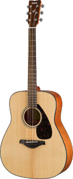 GUITARE ACOUSTIQUE FG800NT NATURELLE YAMAHA