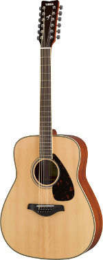 GUITARE ACOUSTIQUE FG820 12 NT NATURELLE 12 CORDES