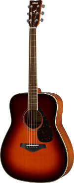 GUITARE ACOUSTIQUE FG820BS BROWN SUNBURST