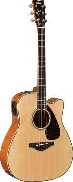 GUITARE ELECTRO-ACOUSTIQUE FGX820CNT NATURELLE