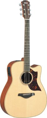 GUITARE ELECTRO-ACOUSTIQUE A3M NATURAL SERIE A YAMAHA